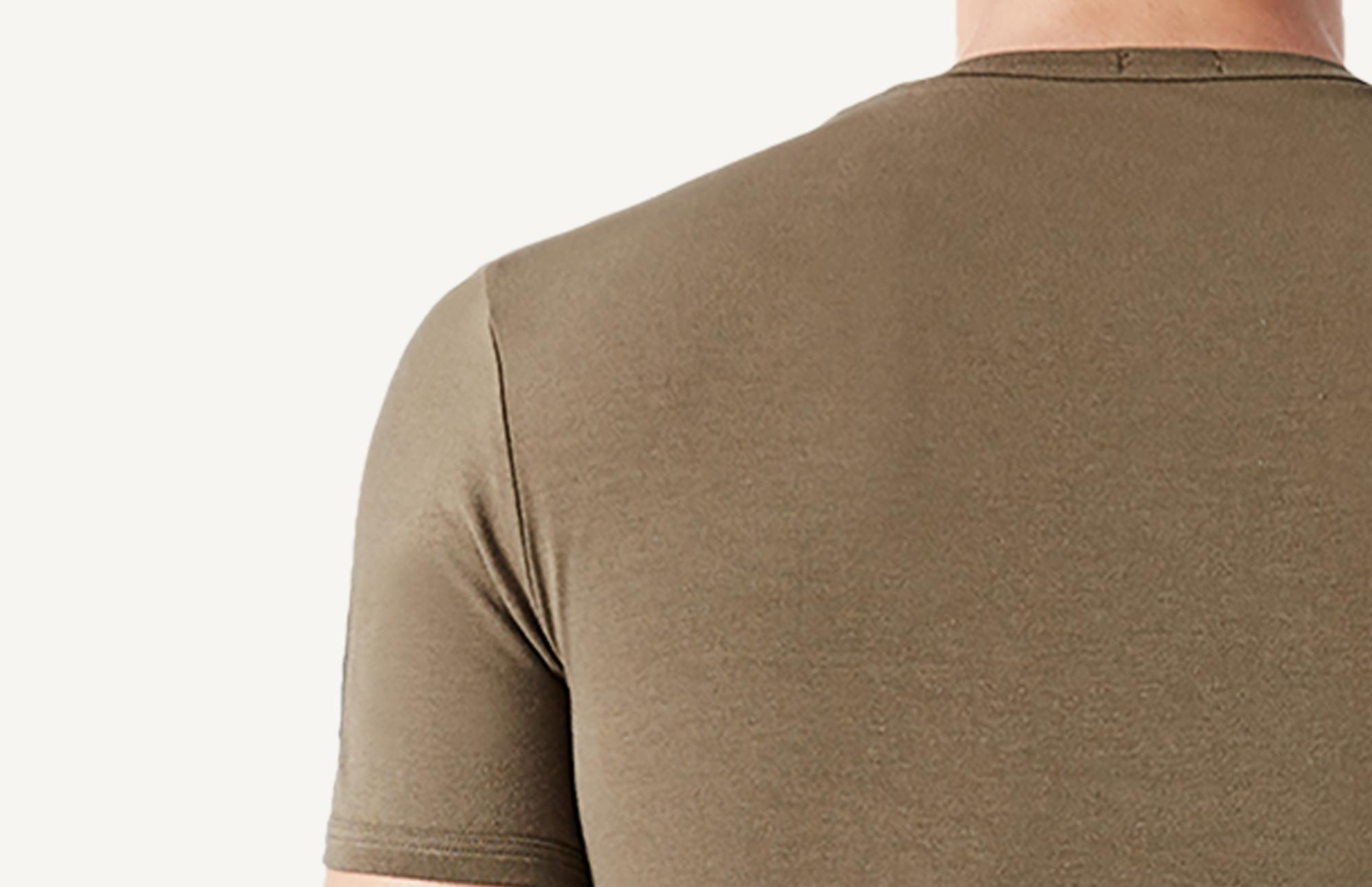 Stretch Cotton Crew Neck T-Shirt - Intimissimi 538bc726a2