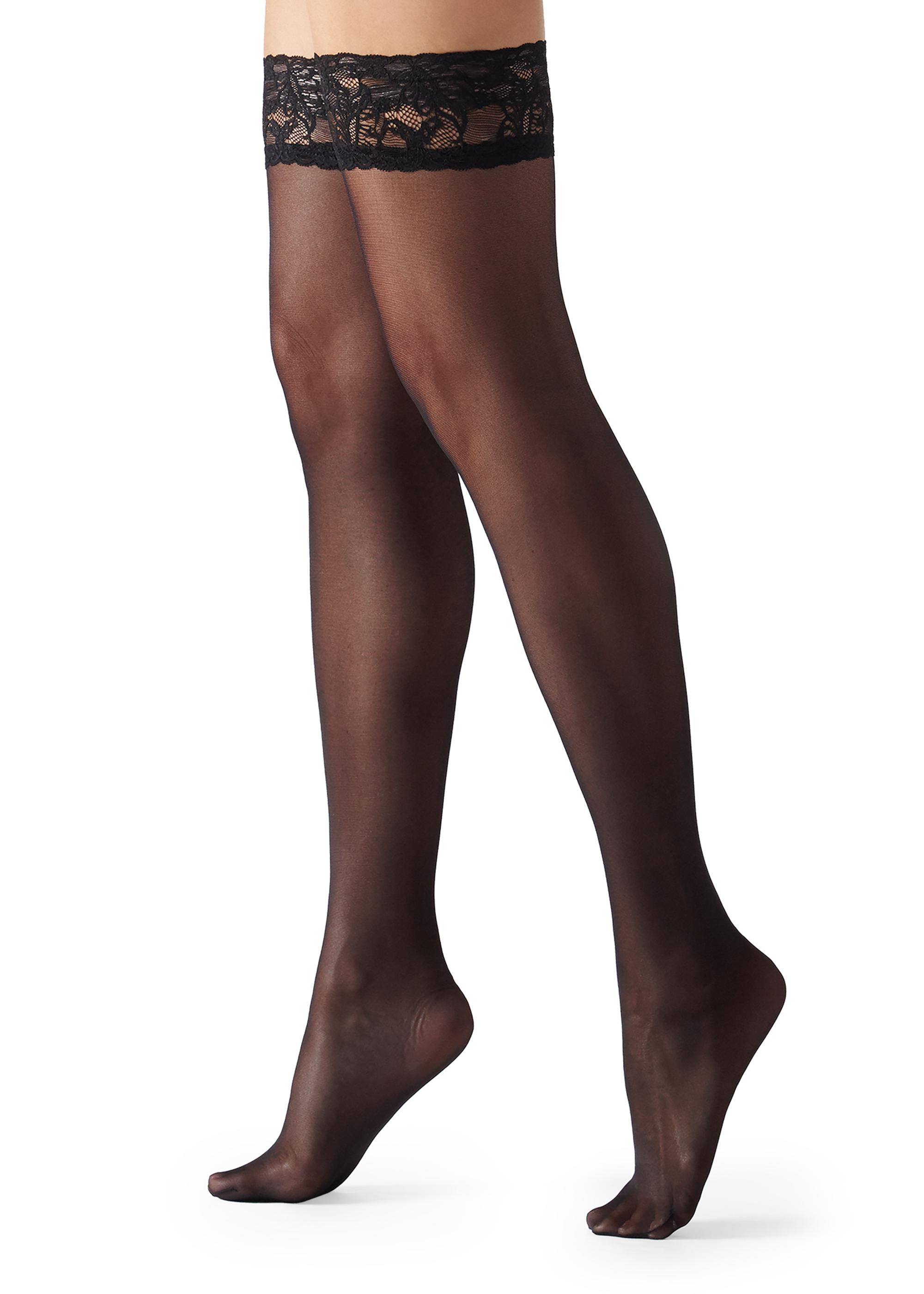 fb3e9a6595738 40 Denier Sheer Thigh-Highs - Calzedonia