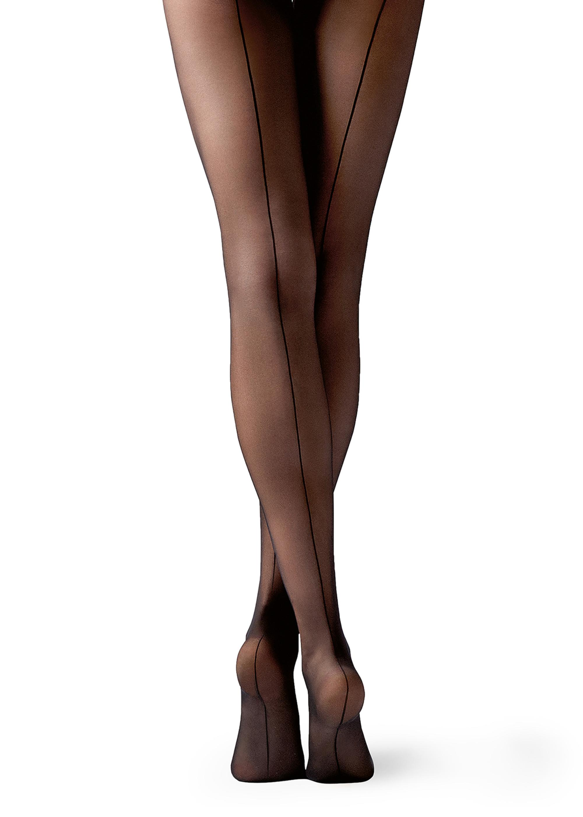 Sheer matt pantyhose