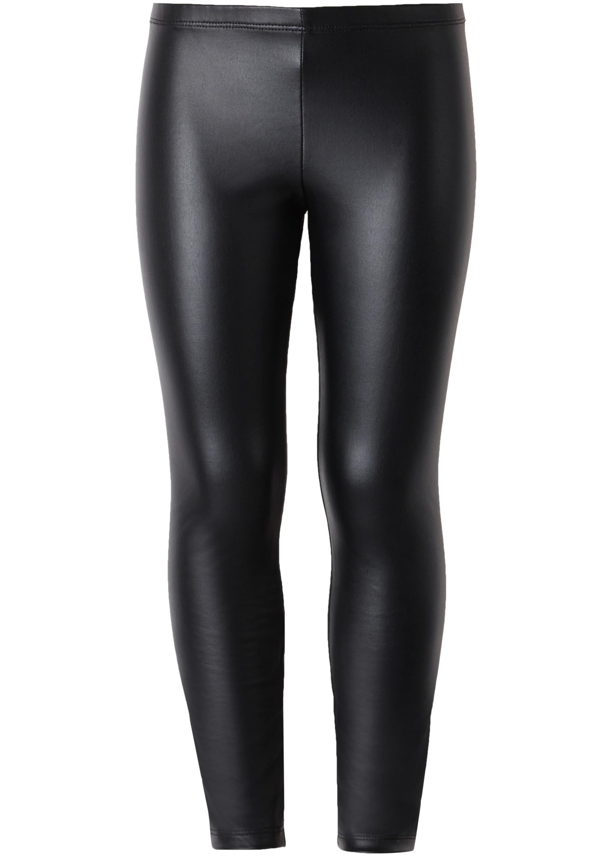 bb59bf81037823 Thermal Leather Effect Leggings - Calzedonia