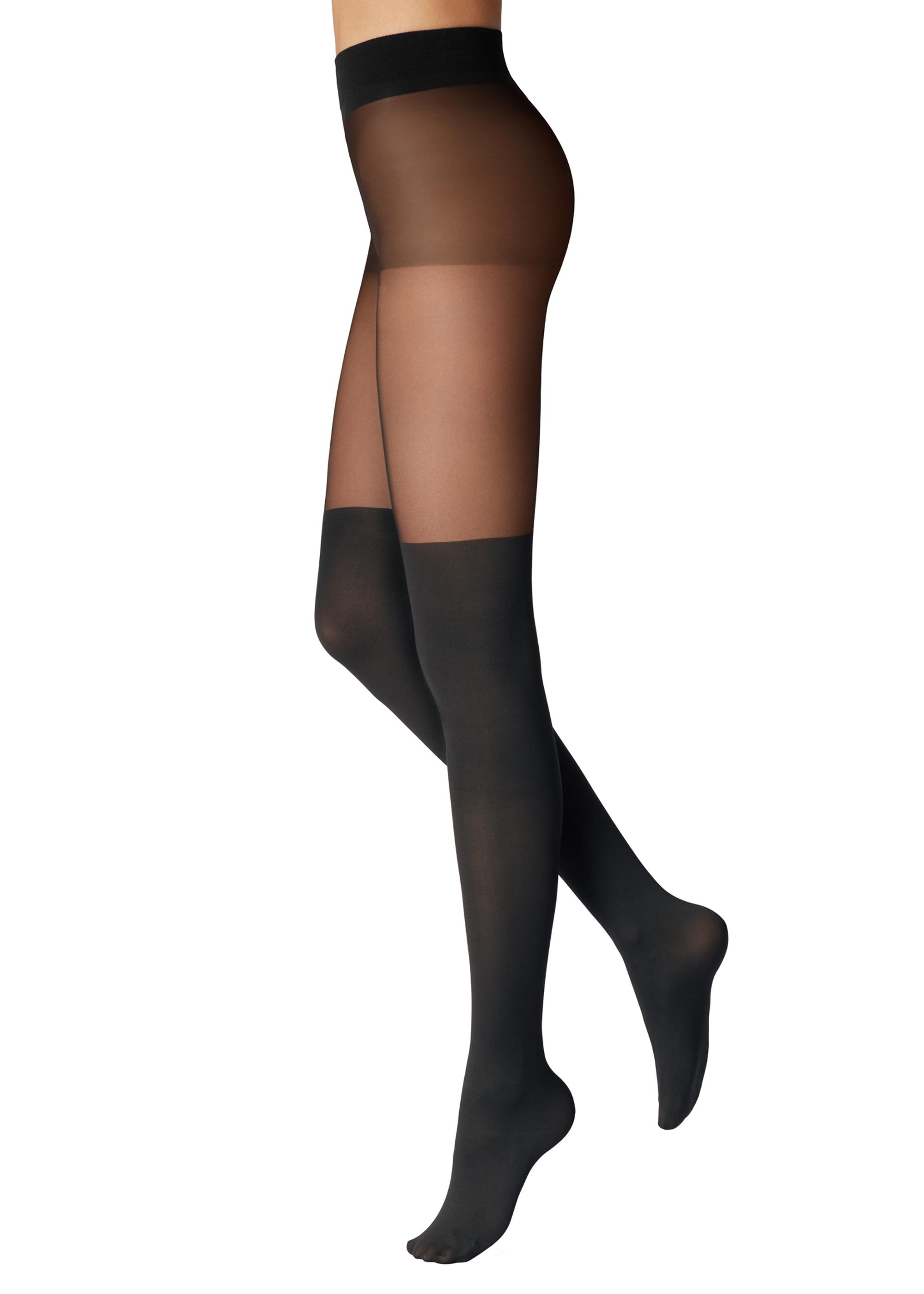 a2e7ee4c6 Mock over the Knee Control-Top Tights - Calzedonia