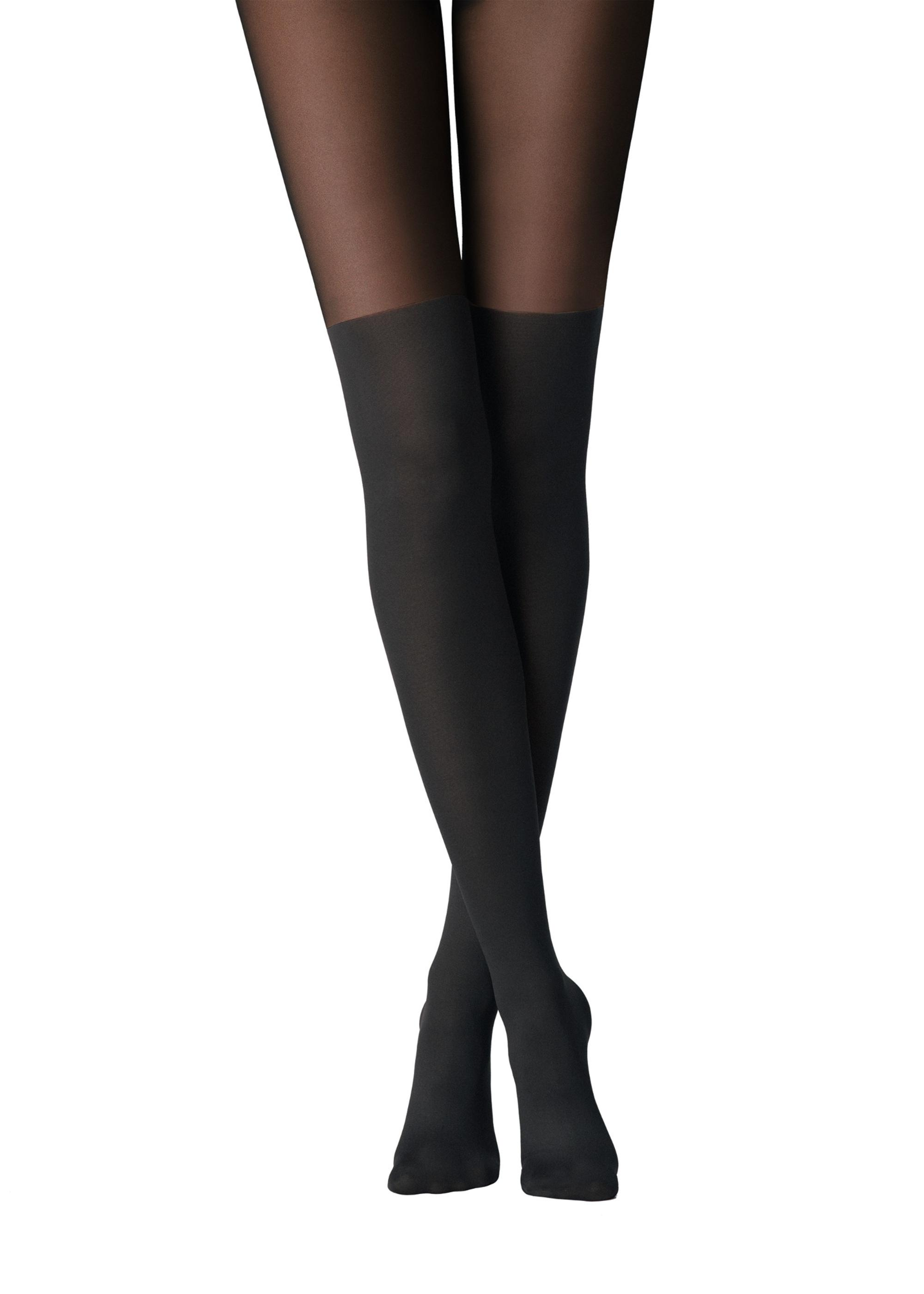 853c79d25f5 Mock over the knee thermal tights - Calzedonia