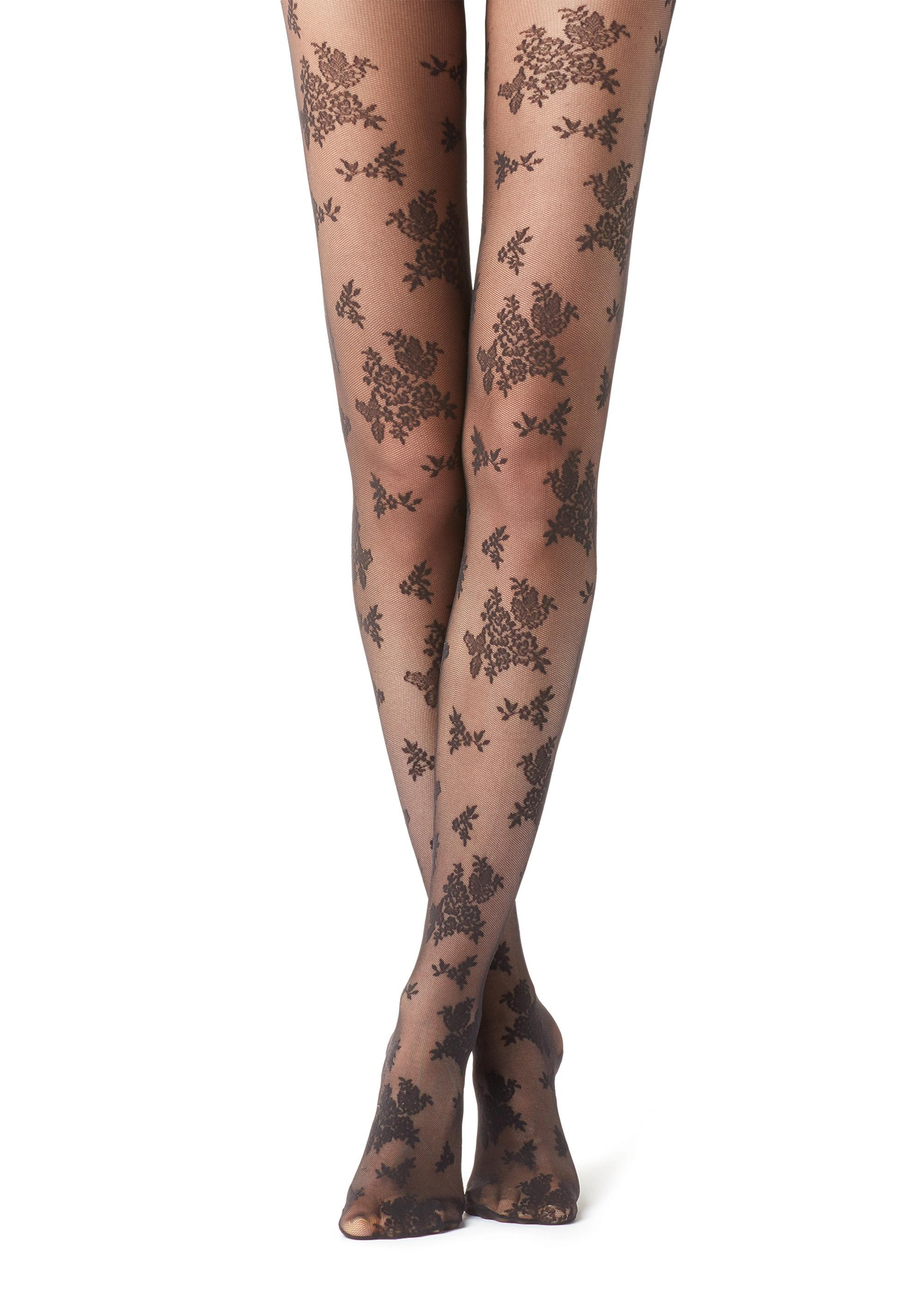 Collants Tulle Floral - Calzedonia b1249d5d0b5