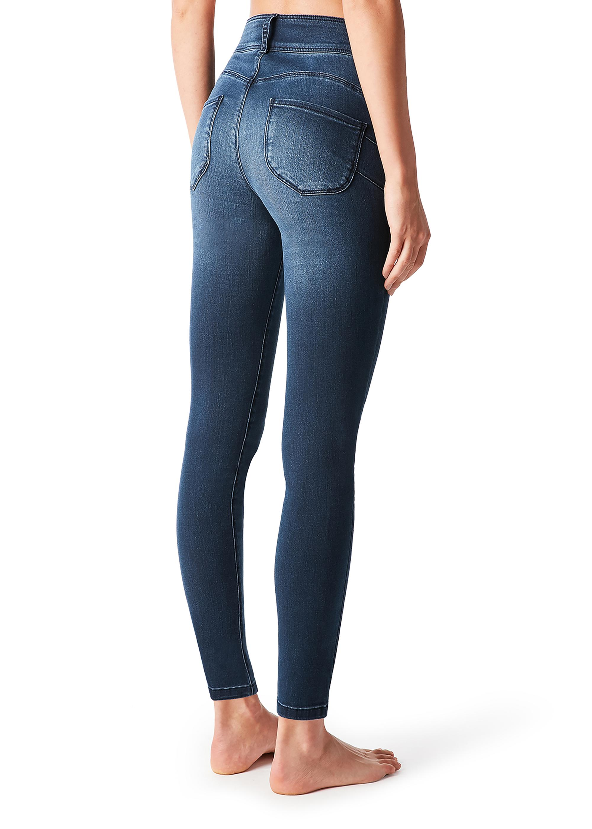 detailed look 2ddfc 5454b High-Waisted Push-Up Jeans