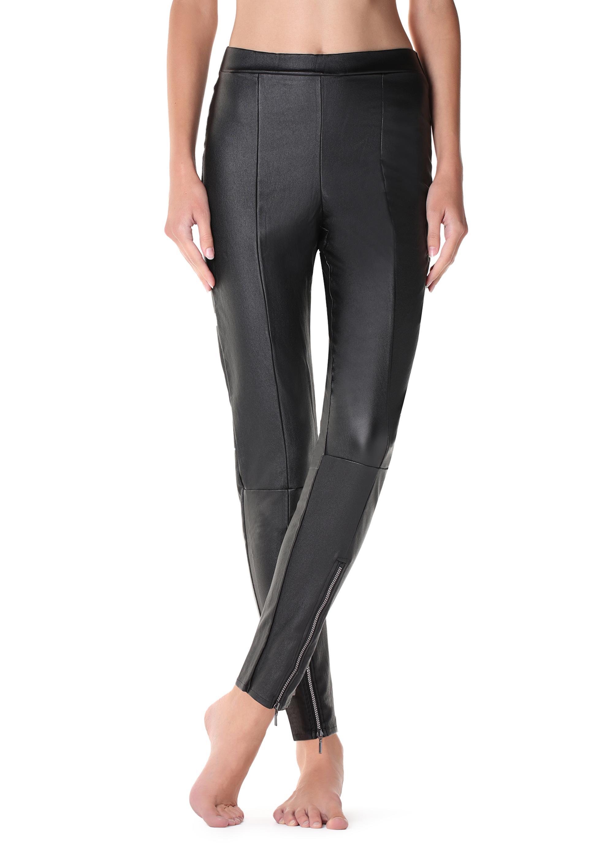 569c0a3094c618 Leather-effect leggings - Calzedonia