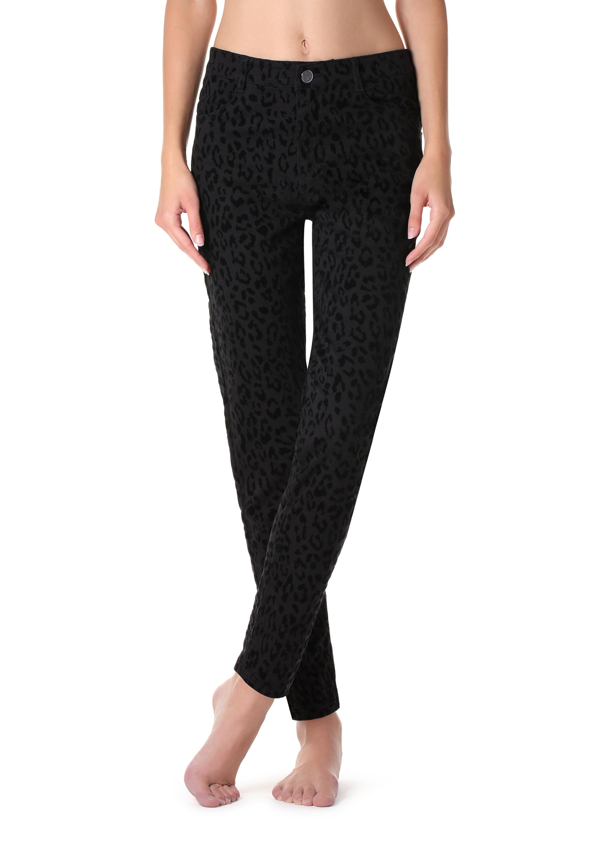 f95af7f8c7a1 Animal-patterned leggings - Calzedonia