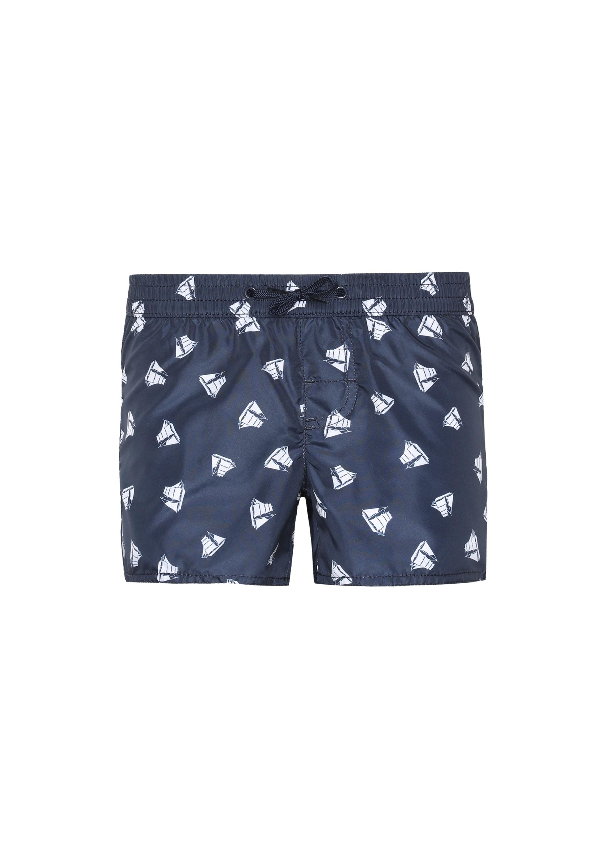 31ab6b77b5 Boys' Formentera patterned swim trunks - Calzedonia
