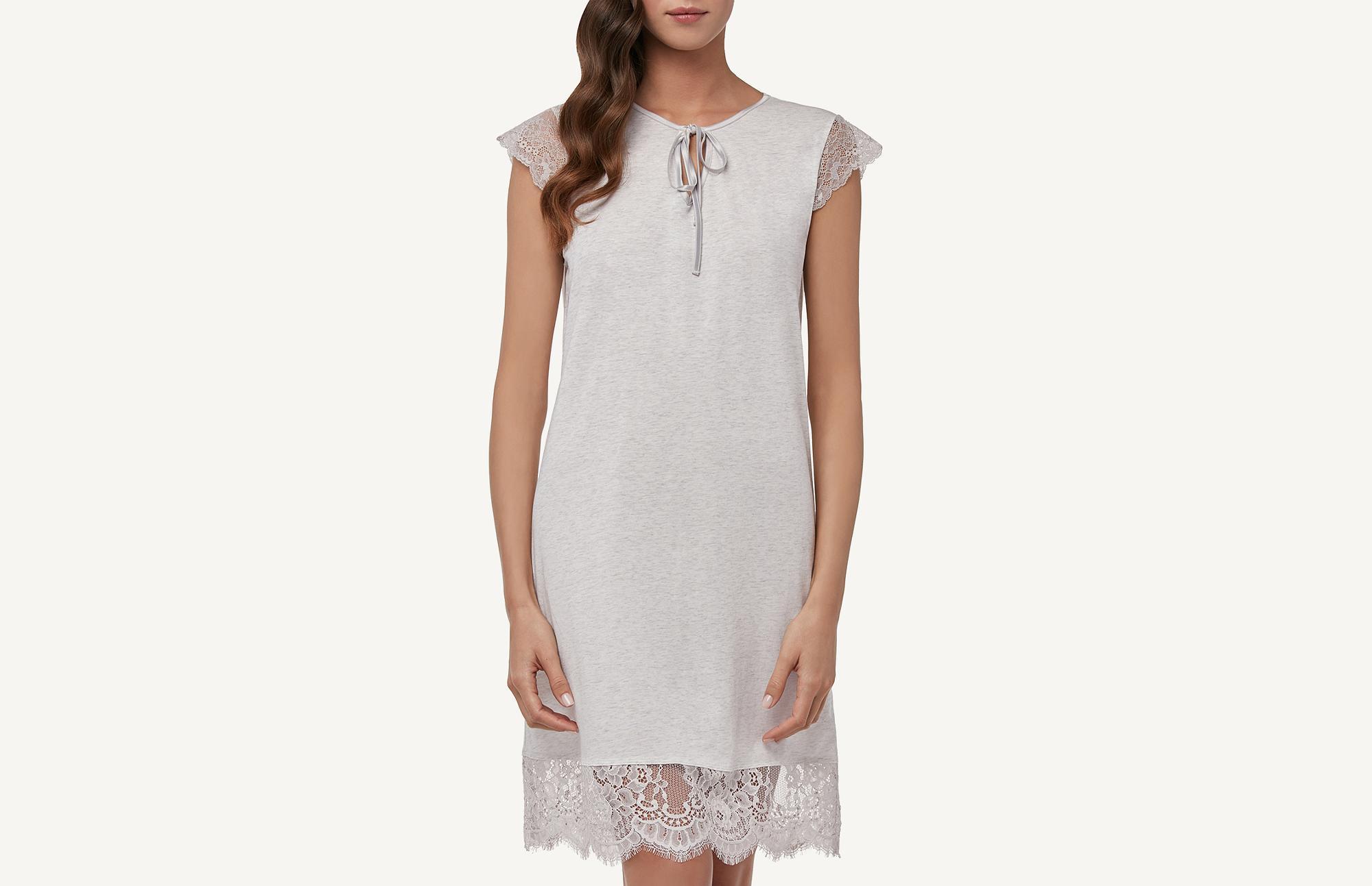a5210869e7 Extra-Fine Supima Cotton® Nightdress - Intimissimi
