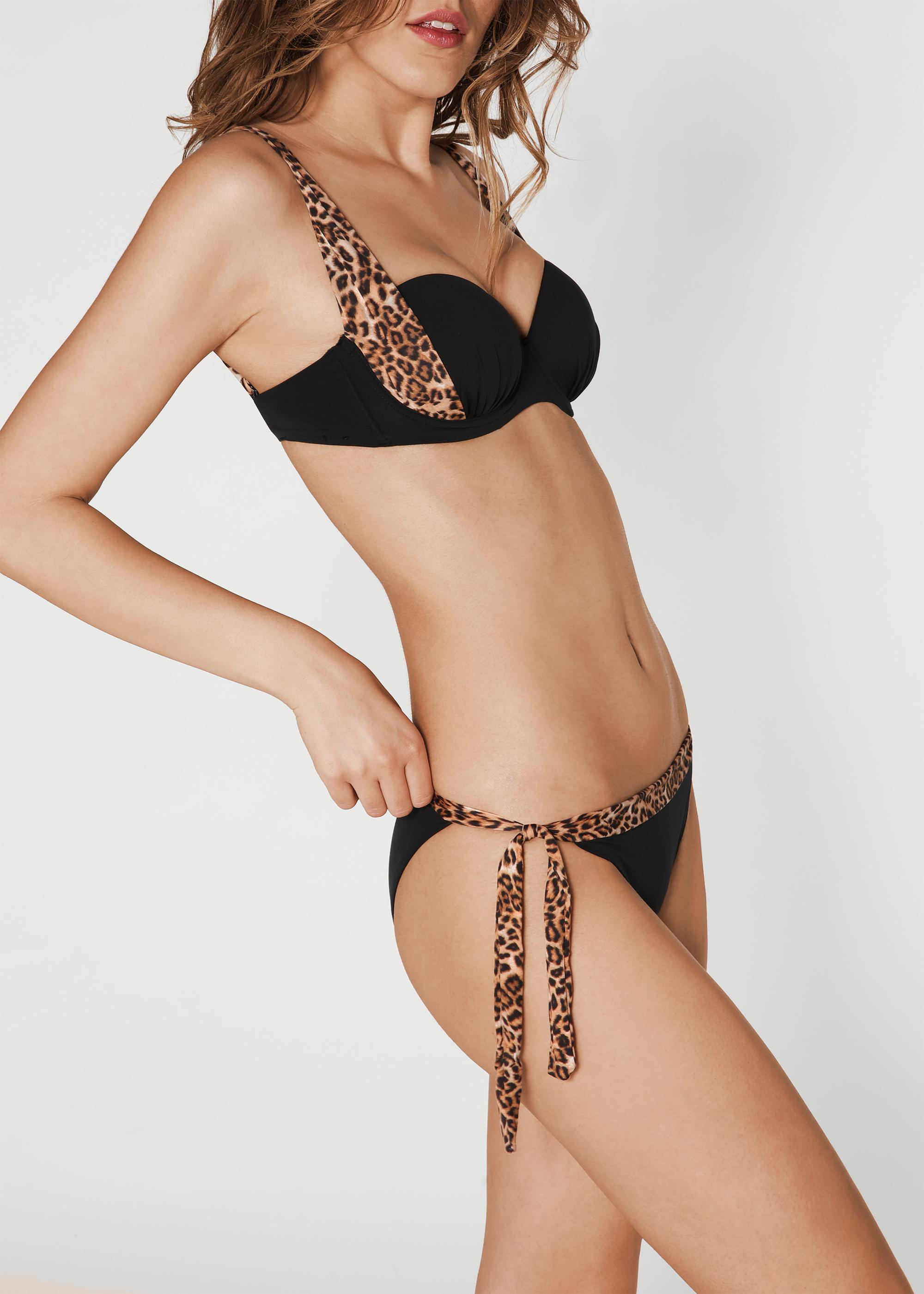 Estampado Bikini De Push Top Ilaria Animal Con Up 1Ju5lc3KTF