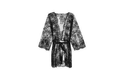 Кимоно из Кружева Precious Lace - Чёрный - L - Intimissimi от Intimissimi