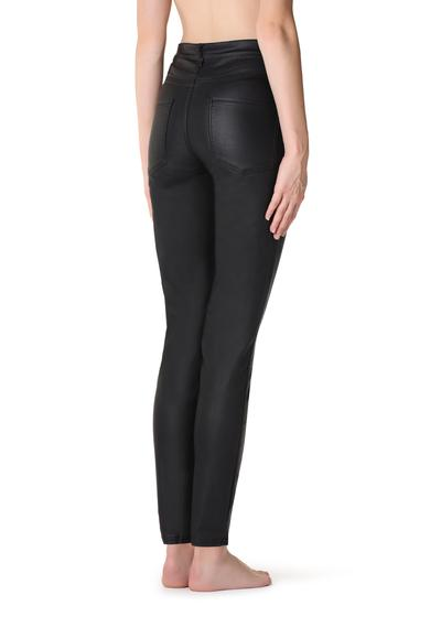 8866af219c34d Shop Leather Effect Leggings on Calzedonia