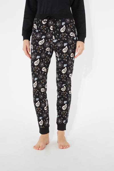 All-Over-Print Long Trousers