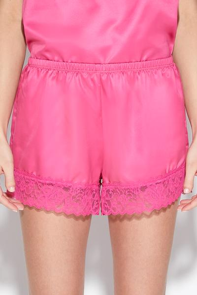 Lace and Satin Shorts
