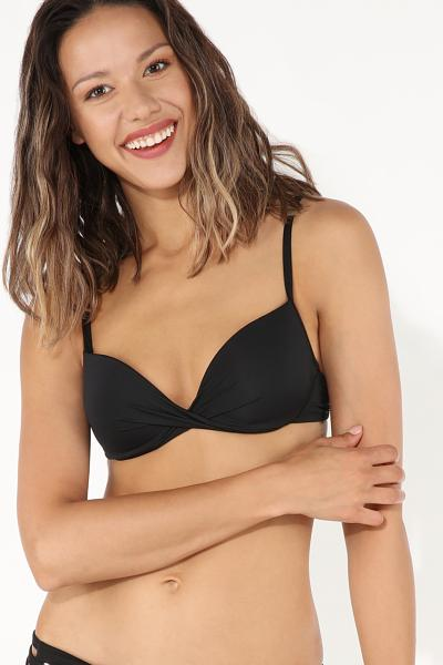 Push-Up Crossover Bikini Top