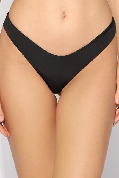 High-Leg Brazilian Bikini Bottoms