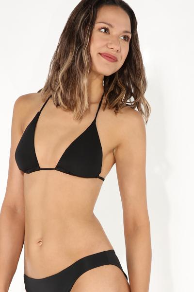 Plain Triangle Bikini Top