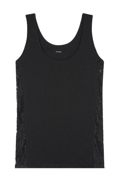 Camisole with Lace Side Insert