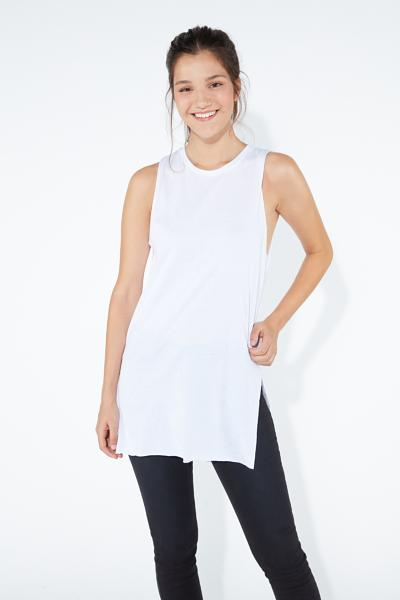 Asymmetric Large Tank Top