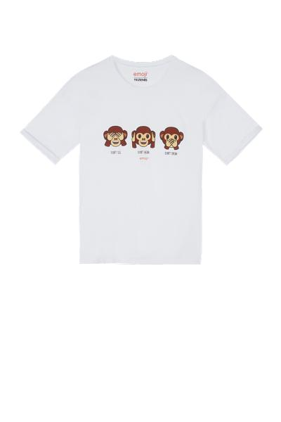 Cotton Emoji T-shirt