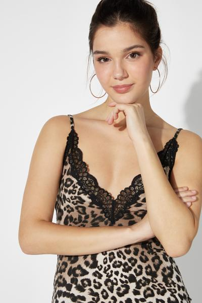 Viscose and Lace Camisole