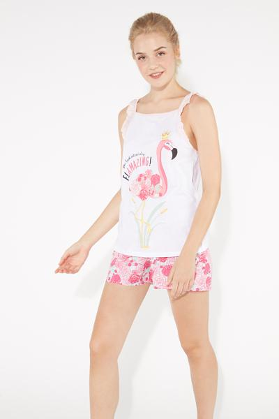 Kurzer Pyjama Flamazing