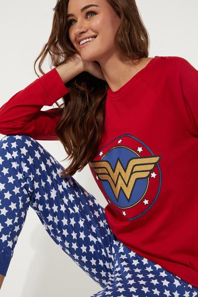 Pyjama Long Wonder Woman