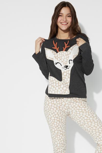 Long Deer Pyjamas