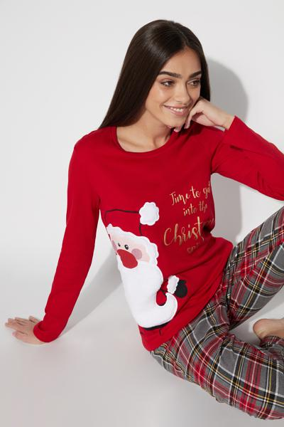 Long Santa Claus Pyjamas