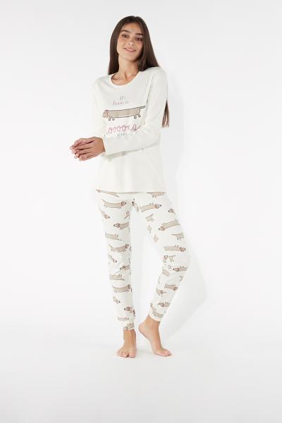 Langer Pyjama Dackel
