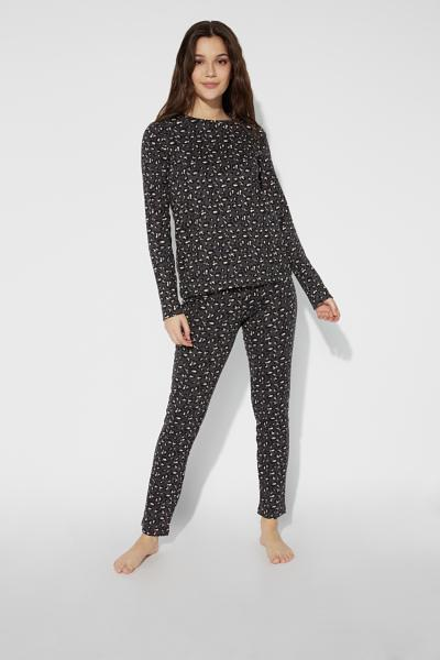 Long Animal Print Pyjamas