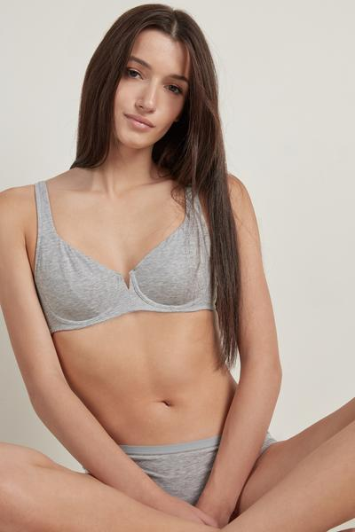 Paris Cotton Balconette Bra