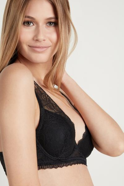 Reggiseno Super Push-Up Malibù in Pizzo
