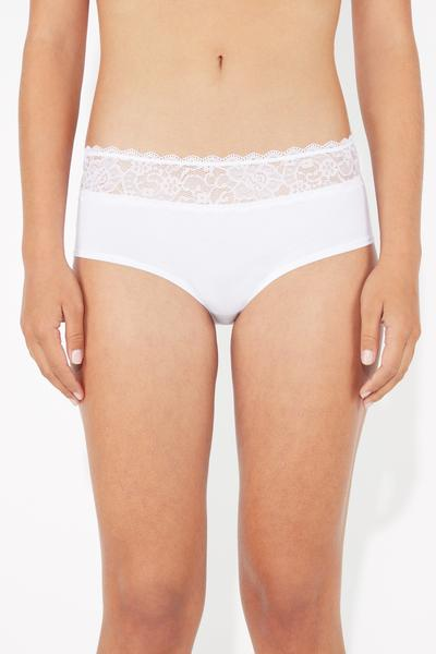Cotton and Lace Culotte
