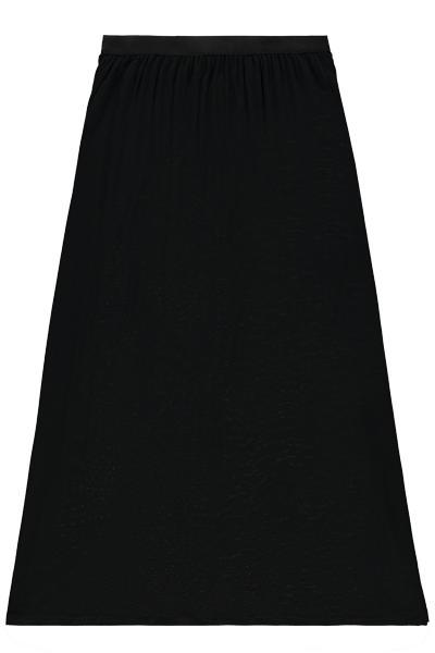Dlouhá Sukně z Tričkového Úpletu