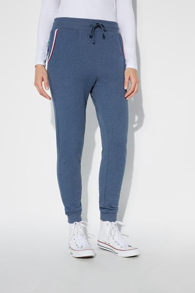Basic Sweatshirt Joggers With Piping Details