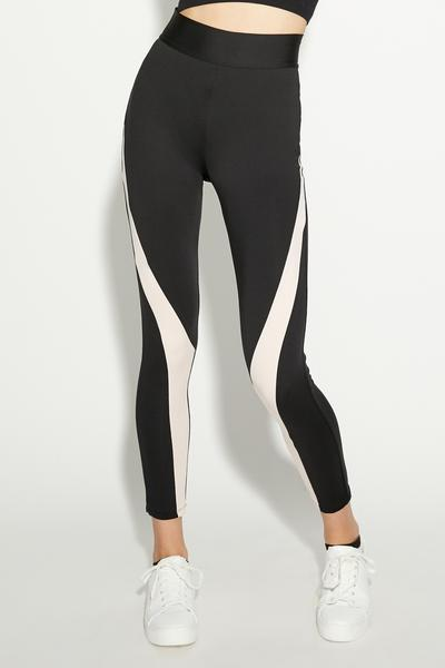Leggings Sport Microfibra Block Colour