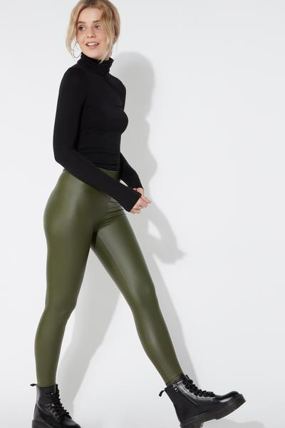Leatherette Leggings
