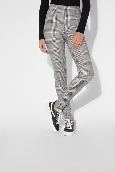 Basic-Leggings aus Milano-Ripp
