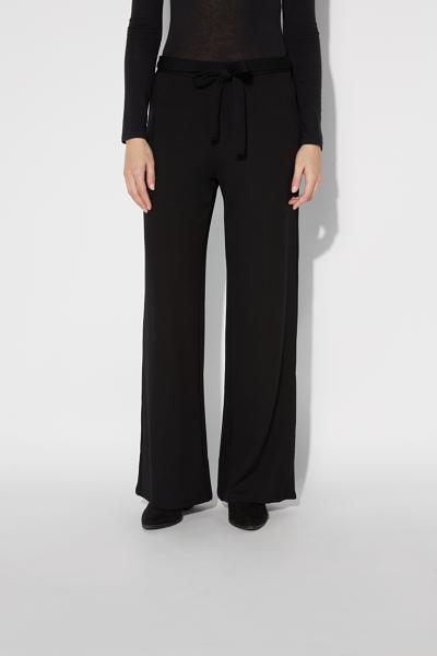 Milano-stitch palazzo pants