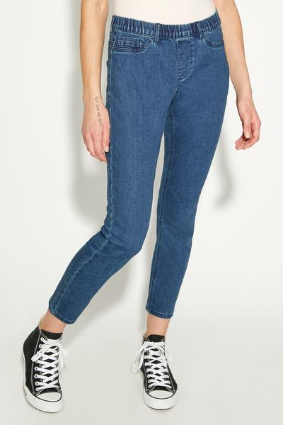Basic-Jeggings mit Skinny-Passform