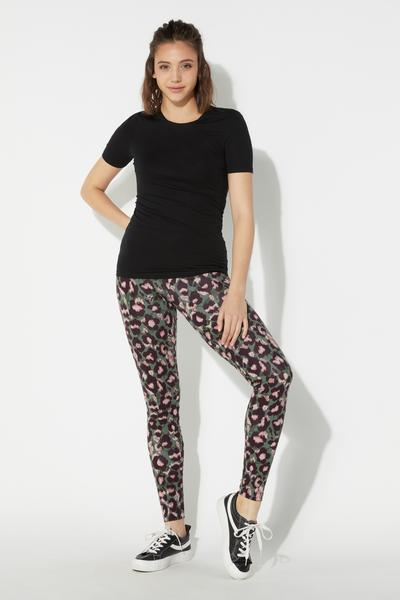 Leggings en Coton Imprime