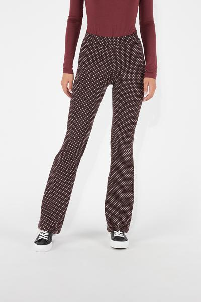 Flare Stretch Trousers