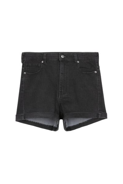 Shorts Denim Basic Risvolto
