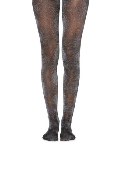 40 Den Printed Party Tights