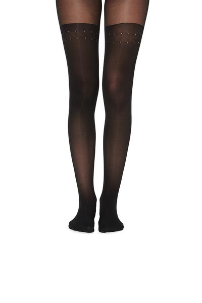 Over-Knee-Look Tights