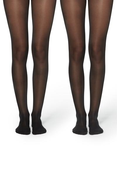 2 X Collants Semiopacos 40 Den Appearance