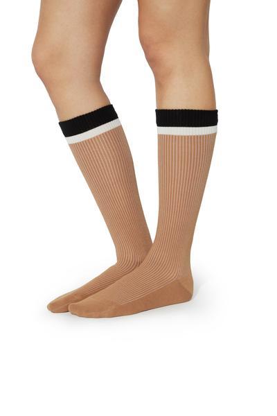 3/4 Socks in Fancy Cotton