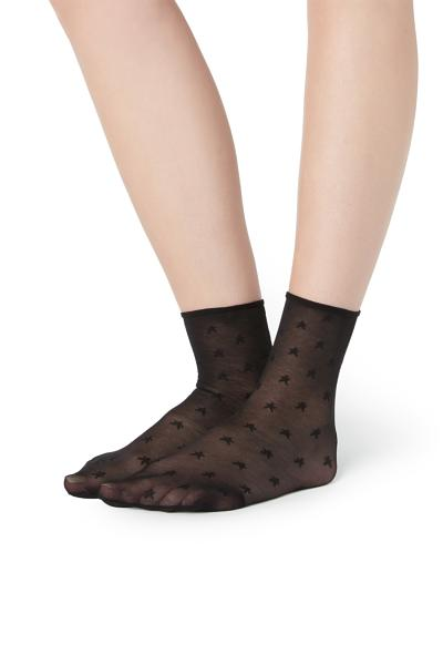 20 Denier Detail Socks