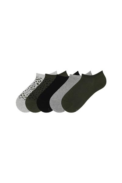 5er-Pack Sneakersocken Damen