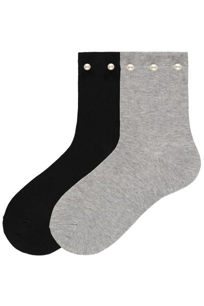 2er-Pack Socken Applikationen